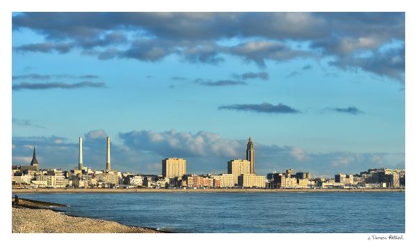 Le Havre, mer, ville, Unesco, plage, LH