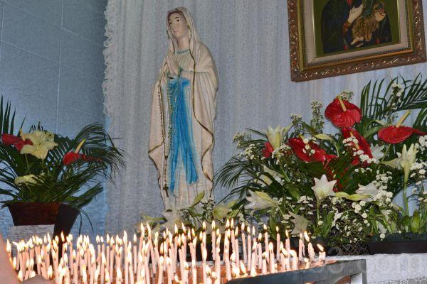 Hail Mary full of Grace.