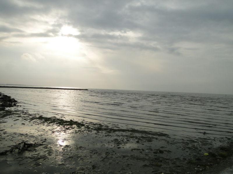 nice silent beach of Gaz port