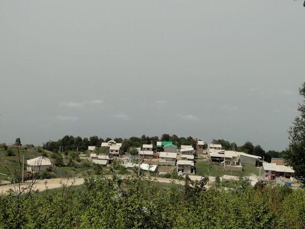 derazno,kordkuy,a village beyond clouds
