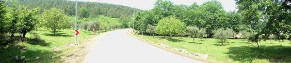 road to kaboodwal waterfall,ali abad katool