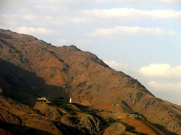 kolakchal tower view from north of tehran,Iran