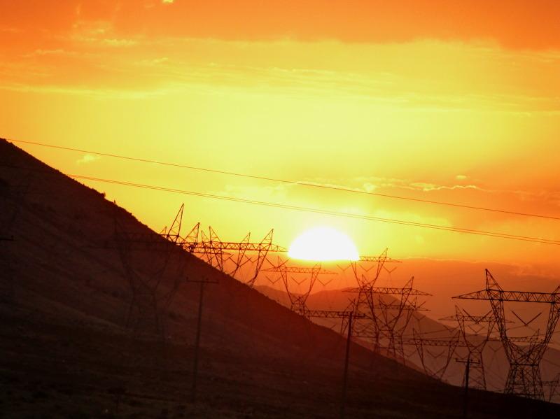 sunrise at firouzkooh