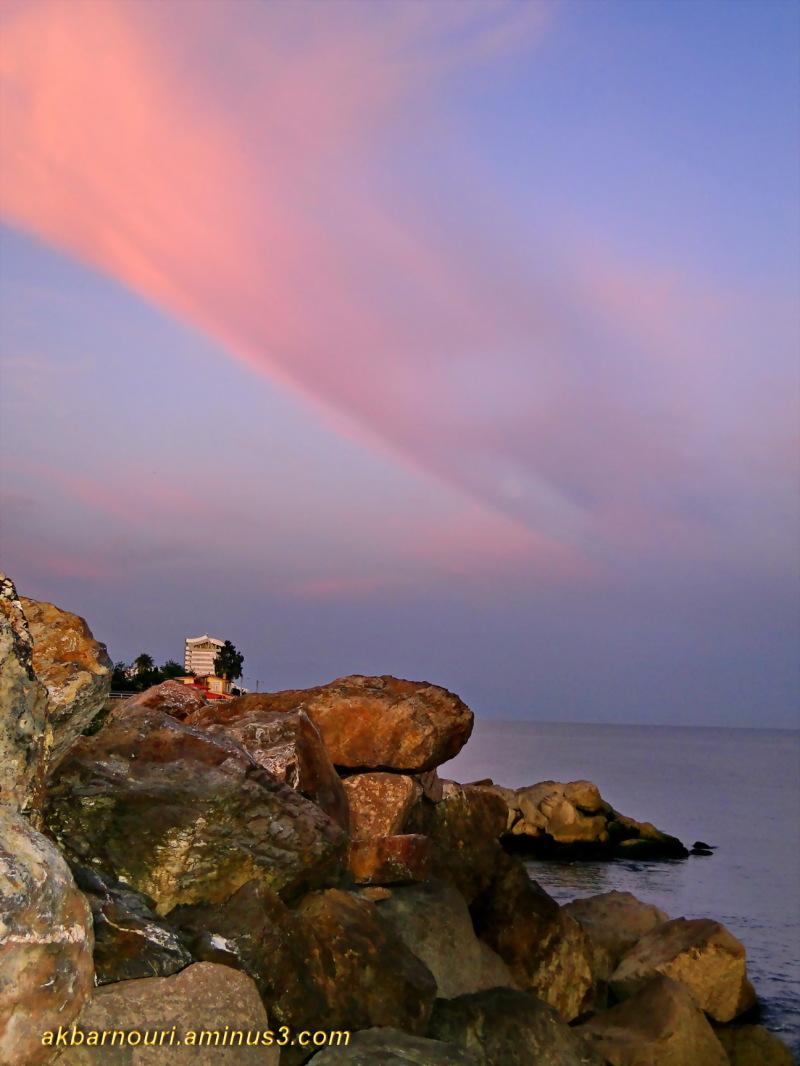 seashore at dawn