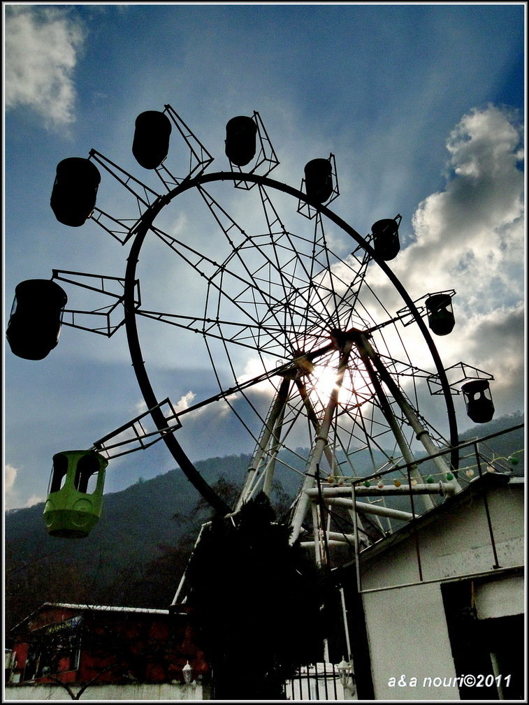 Gorgan's ferris wheel
