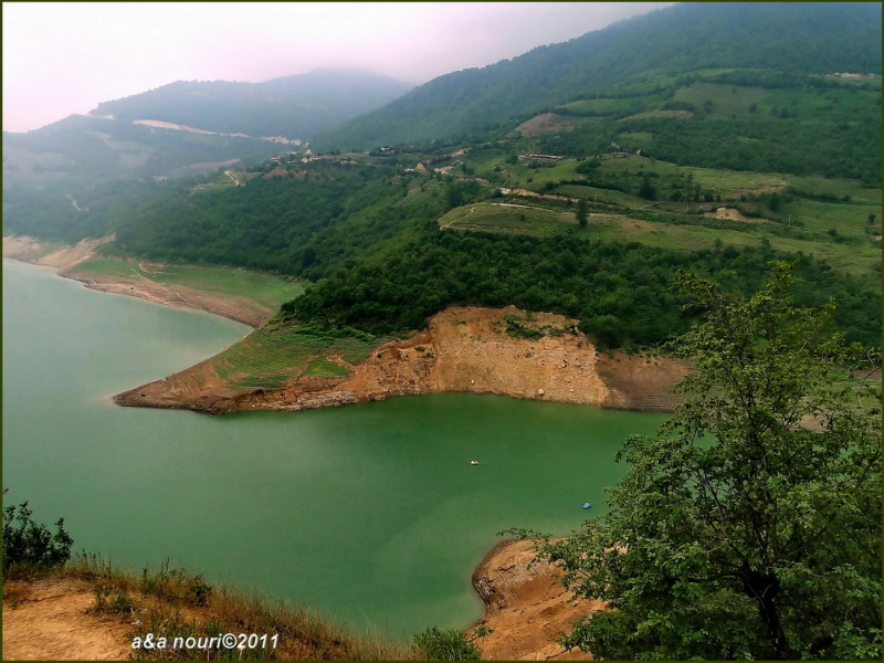 soleyman tangeh dam reservoir