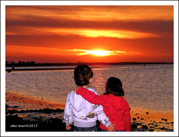 sky sunset,love sunrise