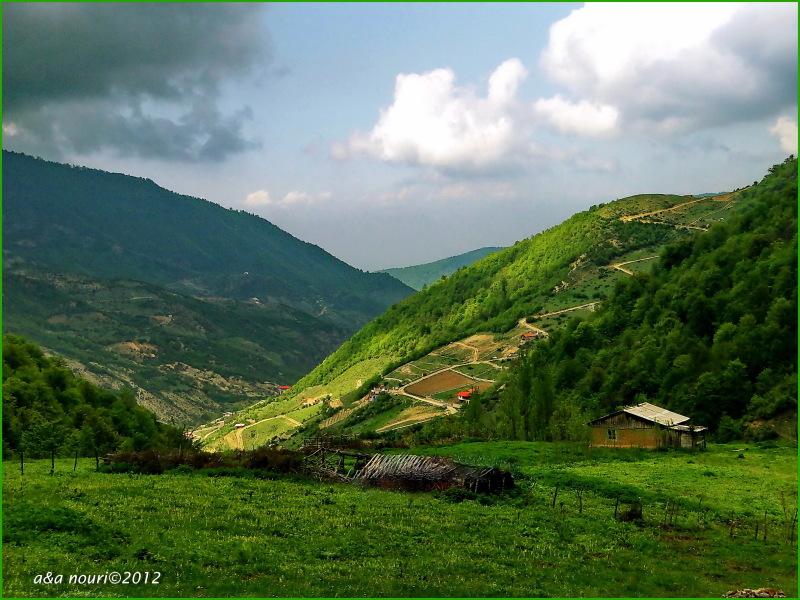 high view of Ziarat