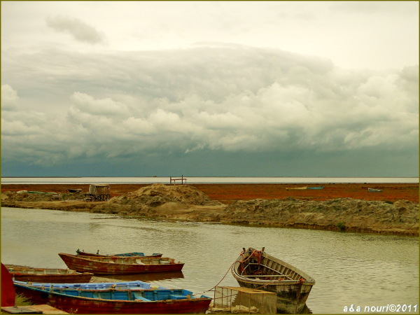 near Gomishan lagoon