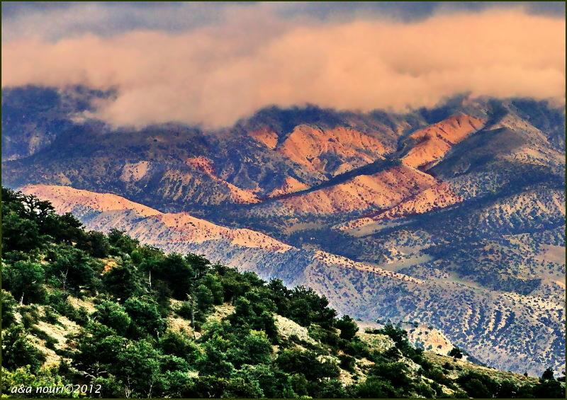 Jahan nama view from Derazno mountain
