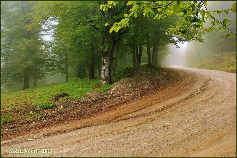 road to Derazno