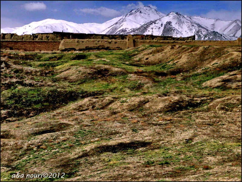 Hegmataneh antique hills