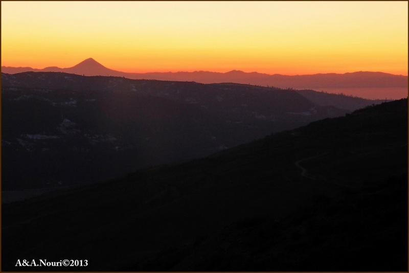 Damavand view from Hezarjerib altitudes