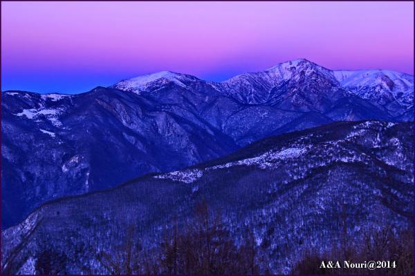 twilight in freez(-8 °C)!