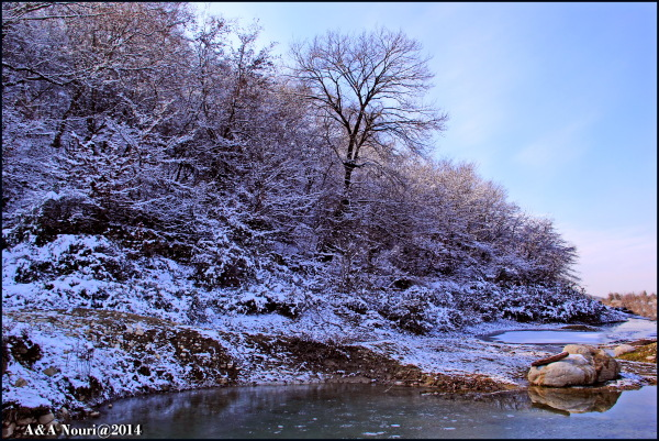 an icy nature!