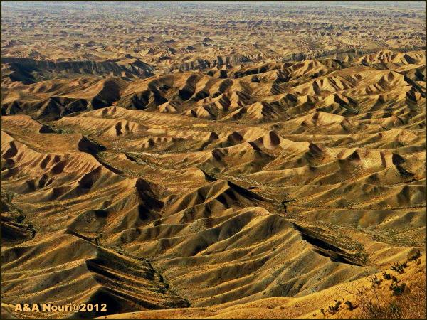 Torkaman desert