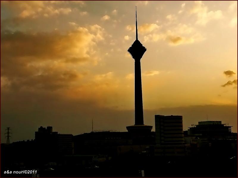 Milad Tower of Tehran