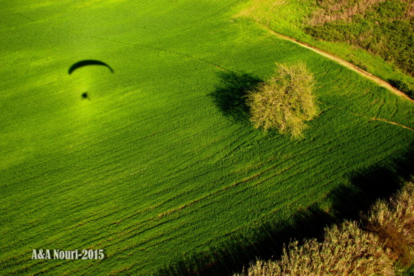 paragliding shoot
