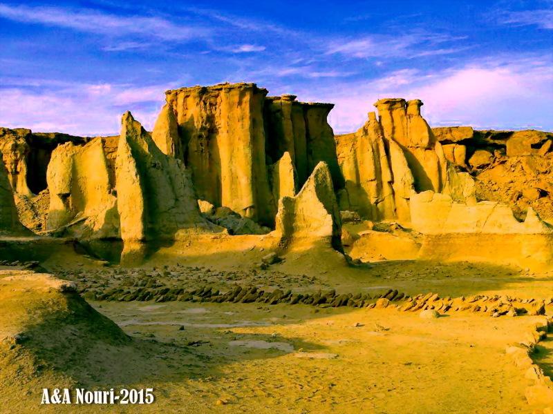 stars valley of Qeshm island