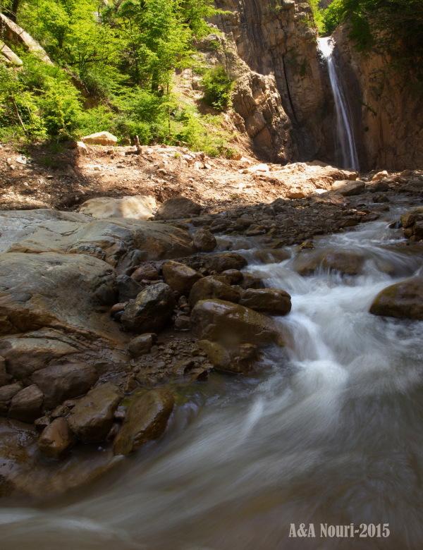 Cheli waterfall
