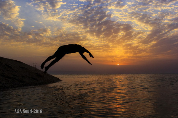 dive to sunrise