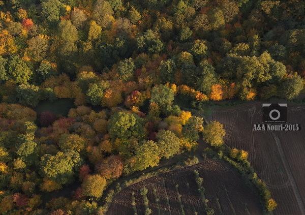 aerial panorama for A U T U M N . . .