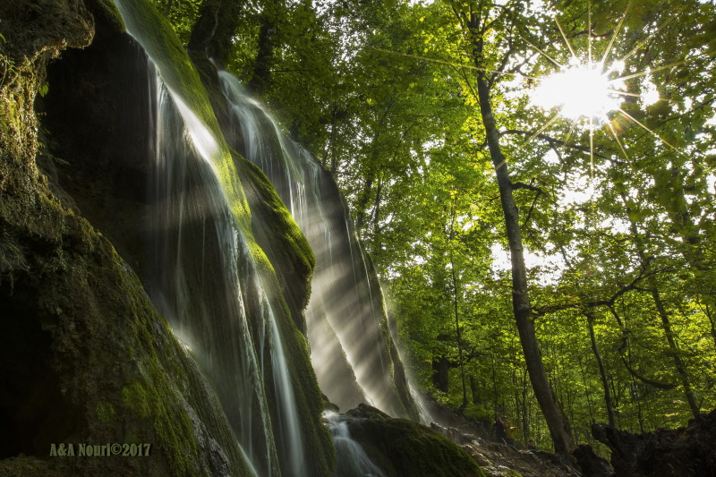Iran-Mazandaran-oben waterfall