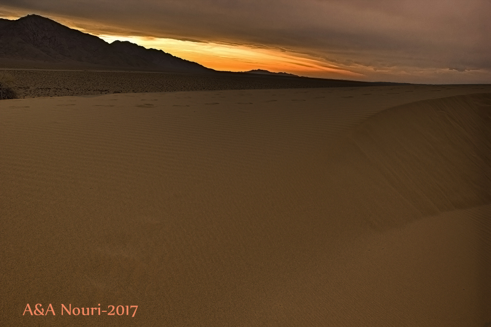 Sunset of the Desert