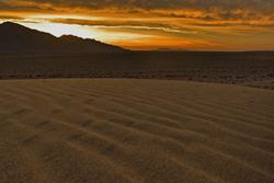 autumn colorful  desert sky
