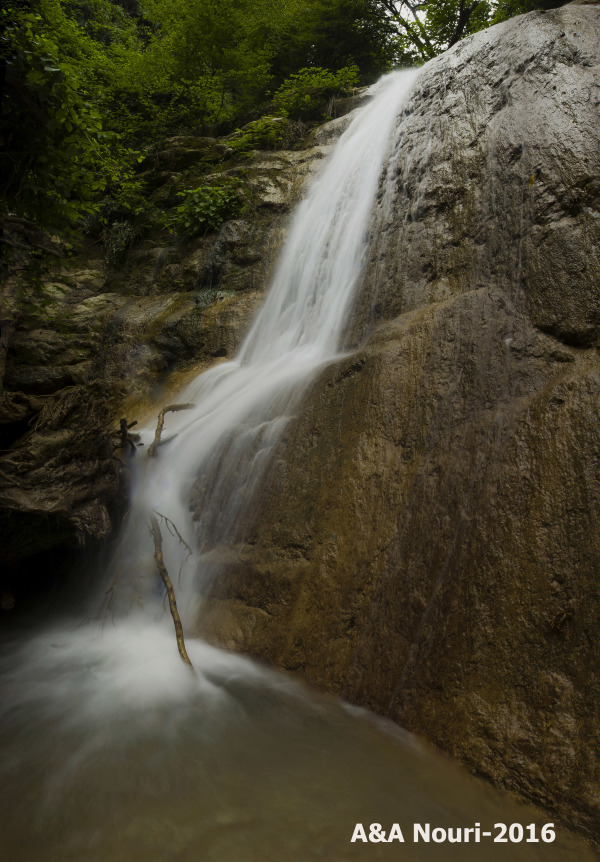 Sangi waterfall