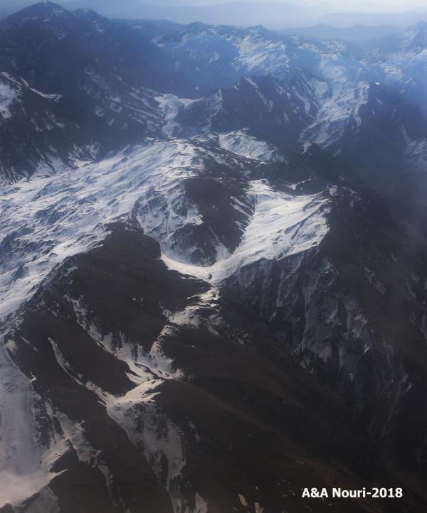 Dena chain mountains...