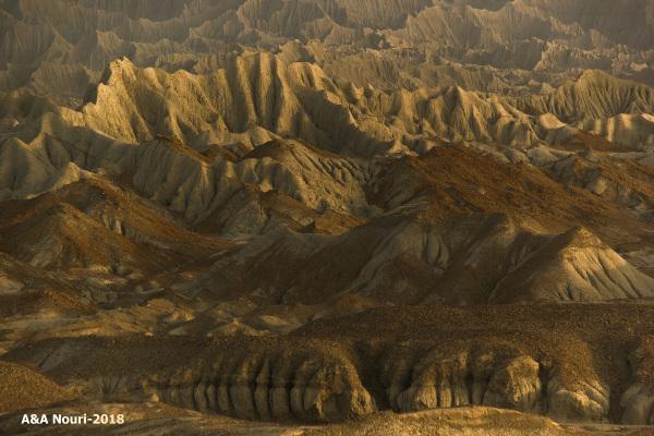 Mars like mountains