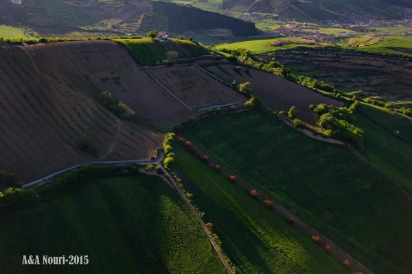 aerial capture of a dream