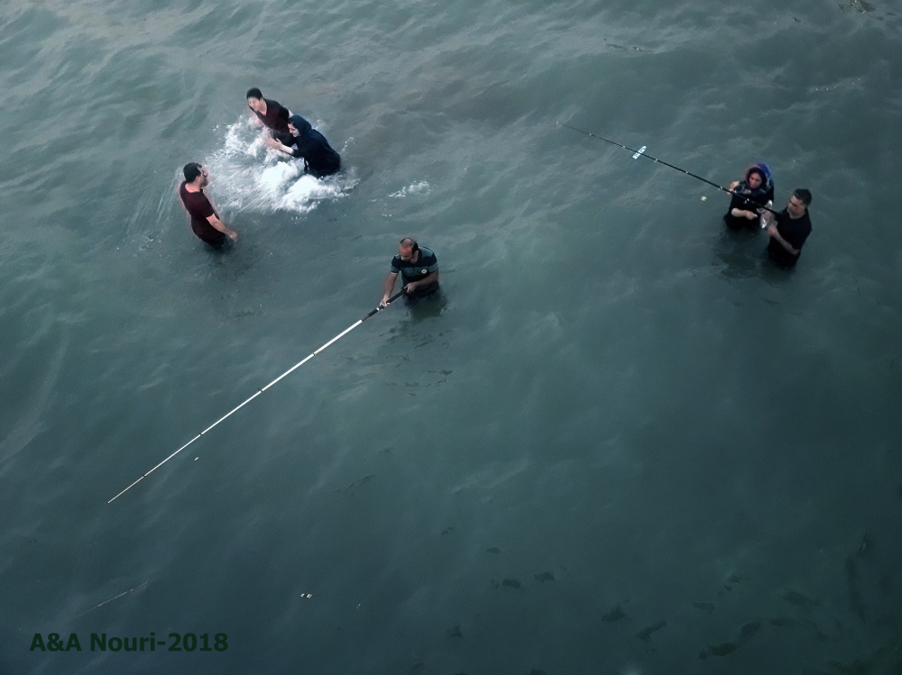 aerial fishing view!