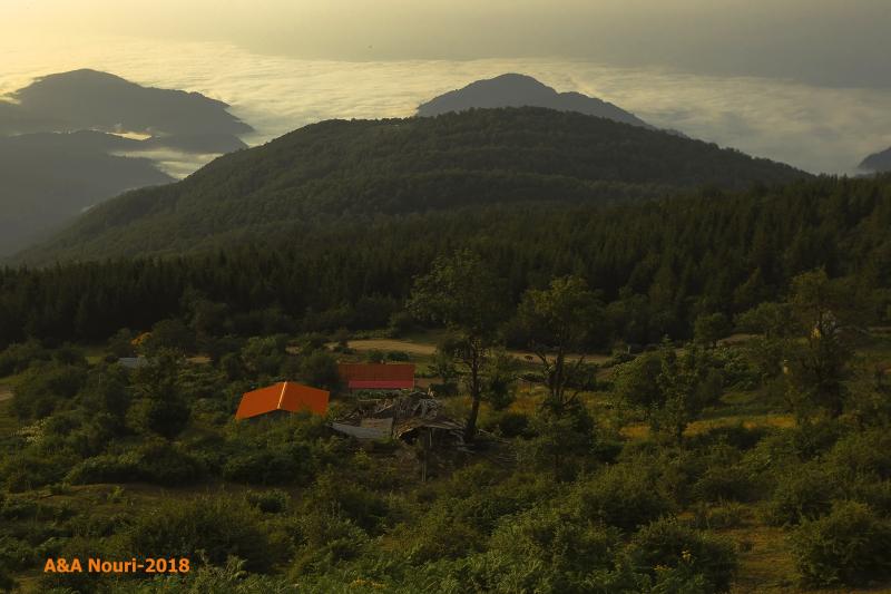 Iran-Mazandaran-Mazichal highlands
