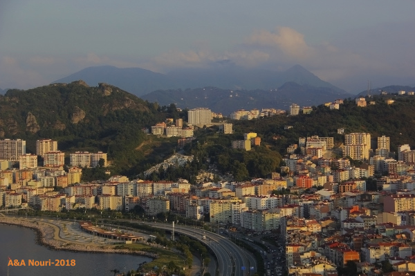 high view of Giresun