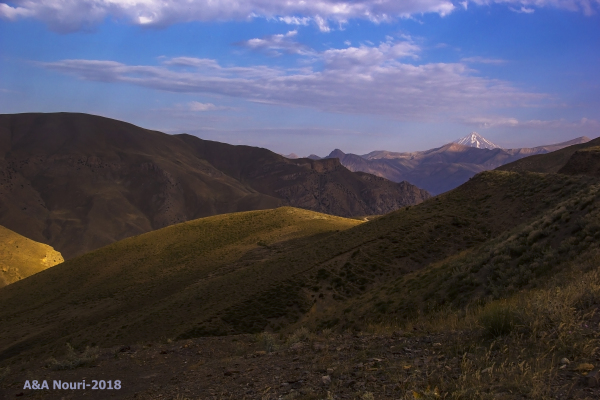 Damavand view from baladeh