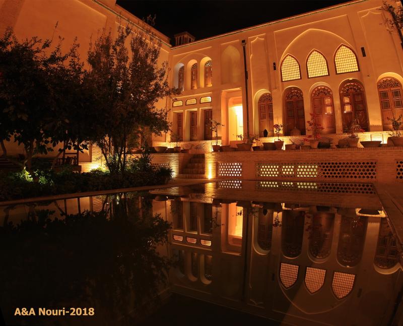 Iran-kashan-mozafari house