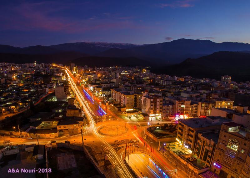 Gorgan city nights