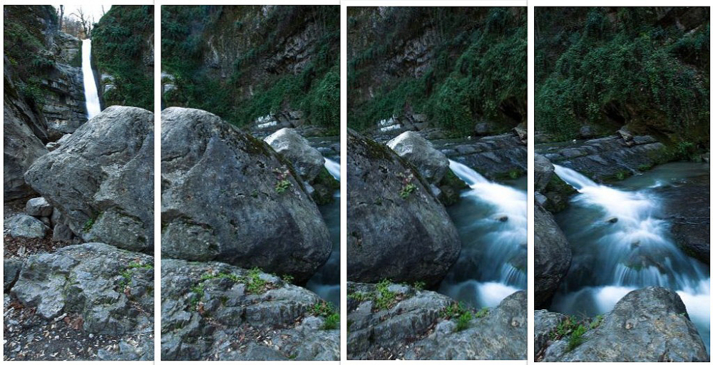 4 shots composing of the last photo