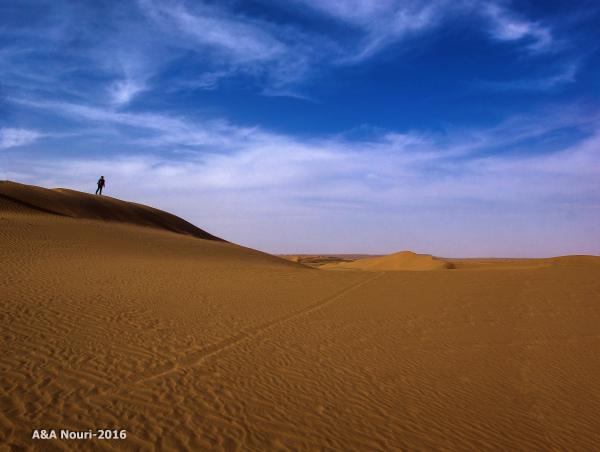 Desert loneliness