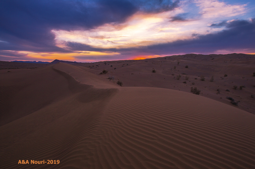 Twilight of the desert