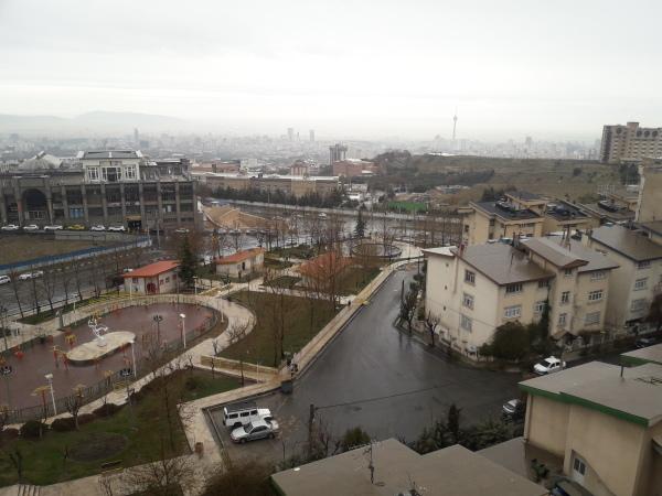 Tehran high view