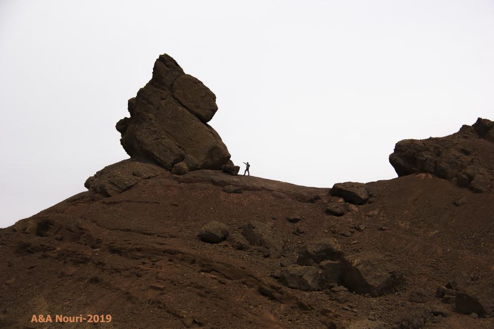 amazed climber