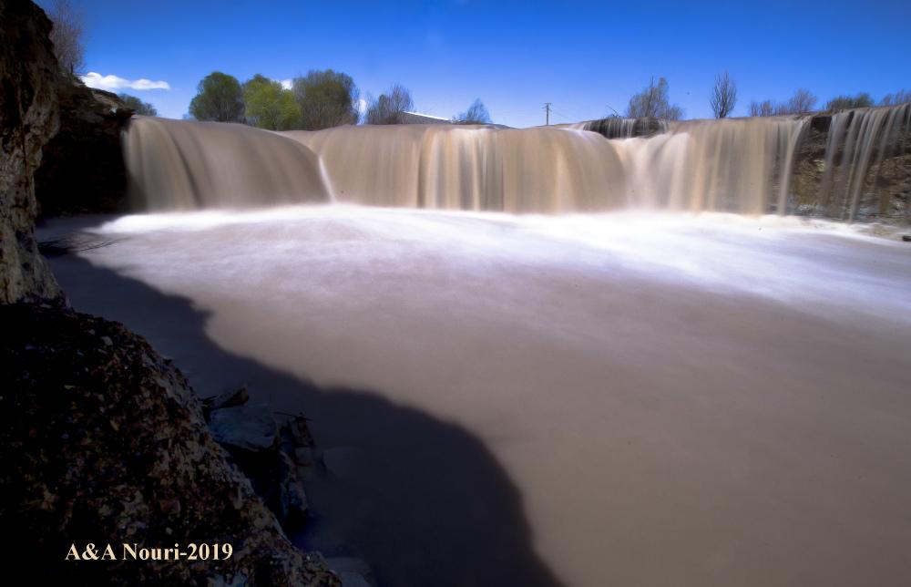 floody waterfall