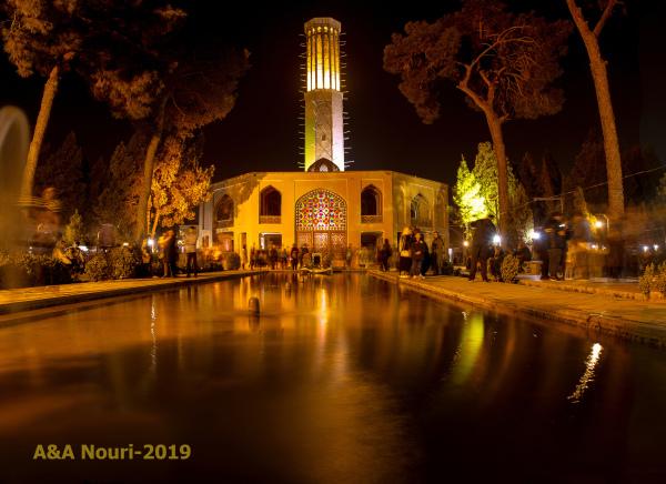 dowlat abad garden-Yazd