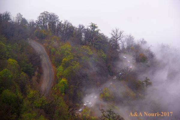 a cloudy trip