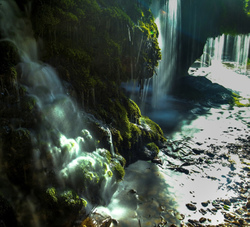 waterfalls crossroad
