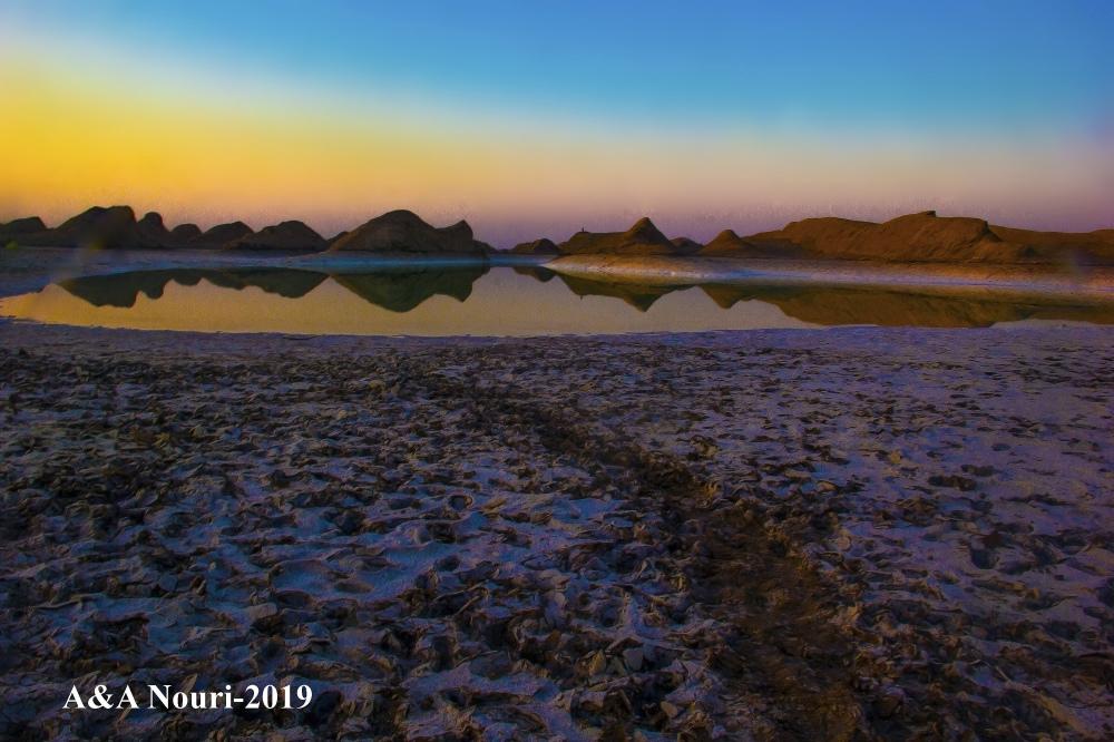 desert twilight colors