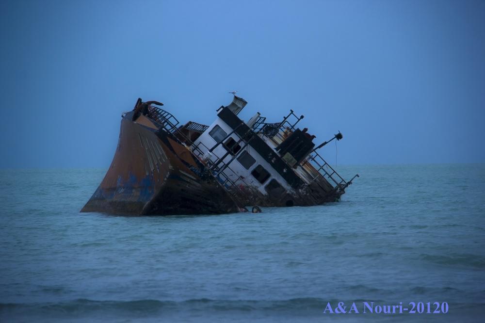 #Iran seaside bashi bushehr ship